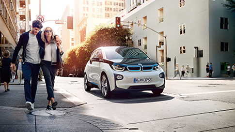 BMW i3 city driving conditions