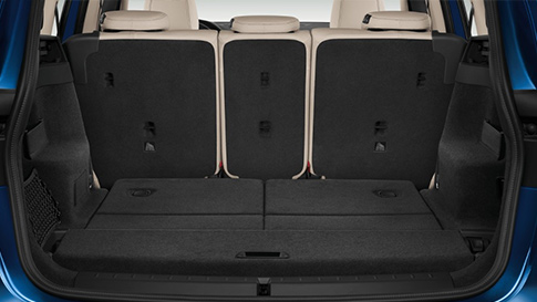 BMW 2 Series Gran Tourer boot space