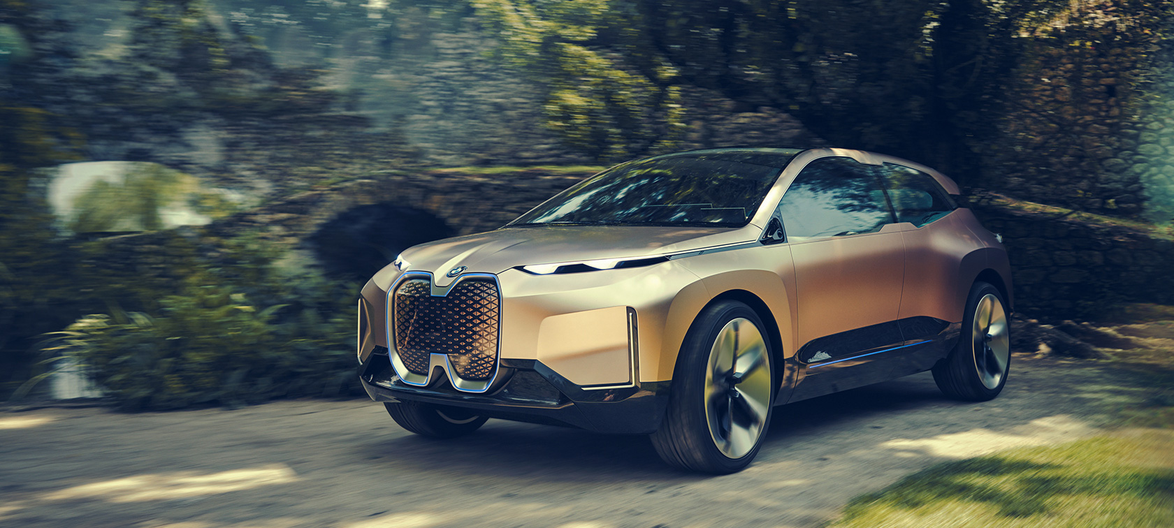 The BMW Vision iNEXT
